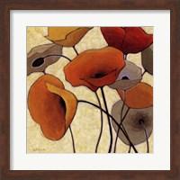 Pumpkin Poppies III Fine Art Print