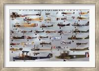 World War I Aircraft Fine Art Print