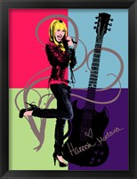 Hannah Montana: Let it Rock Fine Art Print