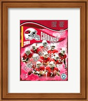 2008 Arizona Cardinals Team Composite Fine Art Print