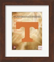 2008 University of Tennessee Logo Fine Art Print