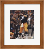 Terry Bradshaw Passing Action Fine Art Print