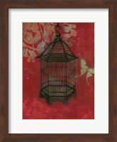 Asian Bird Cage II Fine Art Print