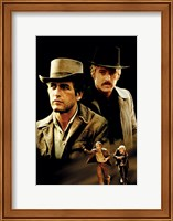 Butch Cassidy and the Sundance Kid Cast Fine Art Print