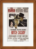 Butch Cassidy and the Sundance Kid Paul Newman Fine Art Print