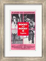 Rocky 2 & Rocky Together Fine Art Print