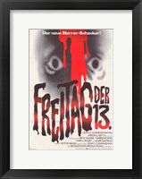 Friday the 13th (german) Fine Art Print