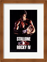 Rocky 4 Sylvester Stallone Fine Art Print