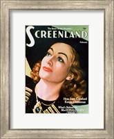 Joan Crawford - Screenland Fine Art Print