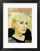 Greta Garbo - Silver Screen Fine Art Print