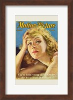 Greta Garbo - Motion Picture Fine Art Print