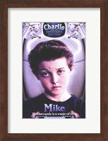 Charlie and the Chocolate Factory Mike Fine Art Print