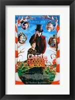 Charlie and the Chocolate Factory Candy Cane Trees Fine Art Print