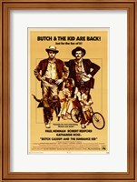 Butch Cassidy and the Sundance Kid Beige Fine Art Print