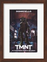 Teenage Mutant Ninja Turtles Donatello Fine Art Print