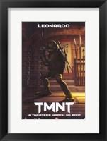 Teenage Mutant Ninja Turtles - Leonardo Fine Art Print