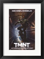 Teenage Mutant Ninja Turtles Michaelangelo Fine Art Print