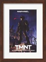 Teenage Mutant Ninja Turtles Raphael Fine Art Print