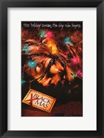 Black Christmas Fine Art Print