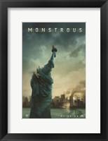 Cloverfield - Monstrous Fine Art Print