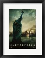Cloverfield - statue Fine Art Print