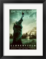 Cloverfield - Some thing has found us Fine Art Print