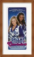 Dallas Cowboys Cheerleaders Making the Team 2 Fine Art Print