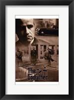 The Godfather Sepia Fine Art Print