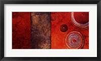 Red Spirals I Fine Art Print