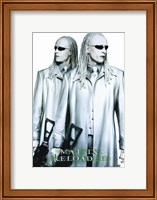 The Matrix Reloaded the Twins Fine Art Print