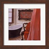 Antique Bath I Fine Art Print
