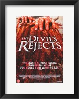 The Devil's Rejects Bloody Fingers Fine Art Print