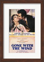 Gone With The Wind Kiss on the Cheek Fine Art Print