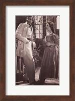 Gone With The Wind - Clark Gable & Vivien Leigh Scene Fine Art Print