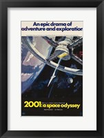 2001: A Space Odyssey An Epic Drama Fine Art Print