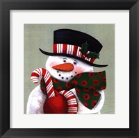 Candy Cane Greetings Fine Art Print