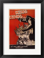 King Kong Red Fine Art Print