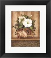 Petunia and Shell Fine Art Print