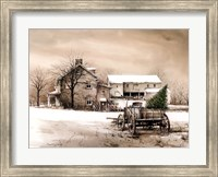 Bringing Home the Tree Fine Art Print