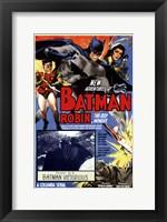 Batman and Robin - Batman Victorious Fine Art Print