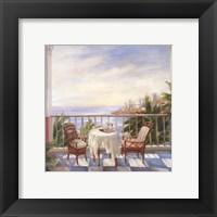 Terrace View 1 Fine Art Print