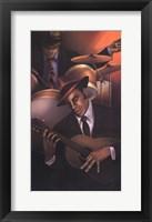 Jazz City 3 Fine Art Print