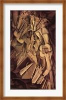 Nude Descending a Staircase, No. 2, 1912 Fine Art Print