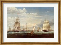 Boston Harbor, 1853 Fine Art Print