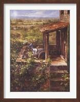 Tuscan Patio Fine Art Print