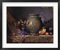 Olive Jar and Apricots Fine Art Print
