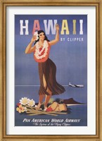 Hawaii by Clipper Fine Art Print