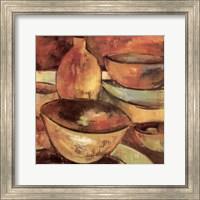 Glazing Pots I Fine Art Print