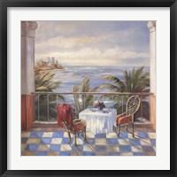 Terrace View 2 Fine Art Print