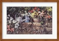 Garden Wall Fine Art Print